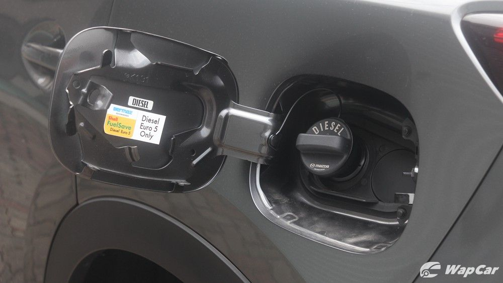 2019 Mazda CX-8 fuel consumption