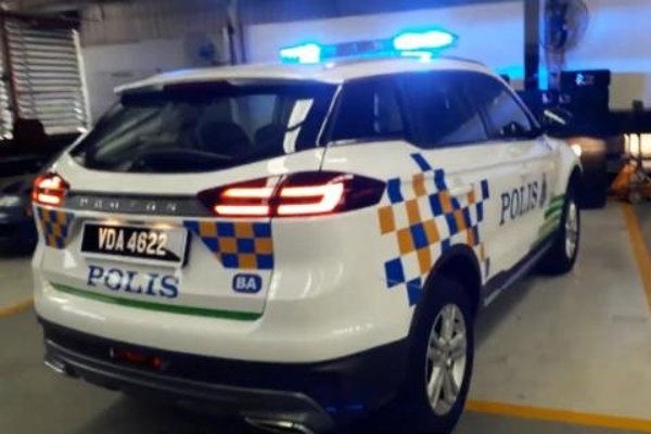 Proton X70 reporting for PDRM patrol duty starting from July