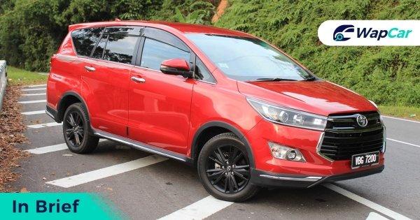 Ringkasan: Toyota Innova jadi pilihan bila sendu tak mampu beli Alphard