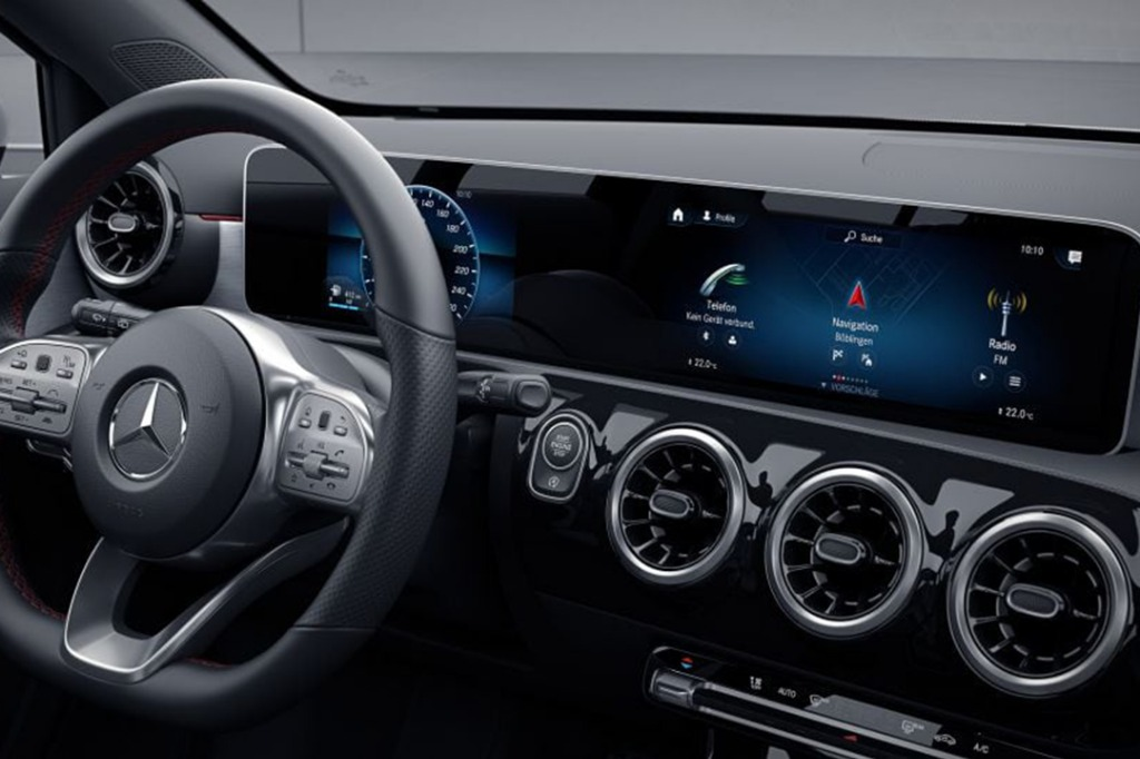 2019 Mercedes-Benz A200 Sedan Progressive Line Interior 002