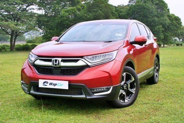 Ratings – Honda CR-V's build quality and features, high marks for features
