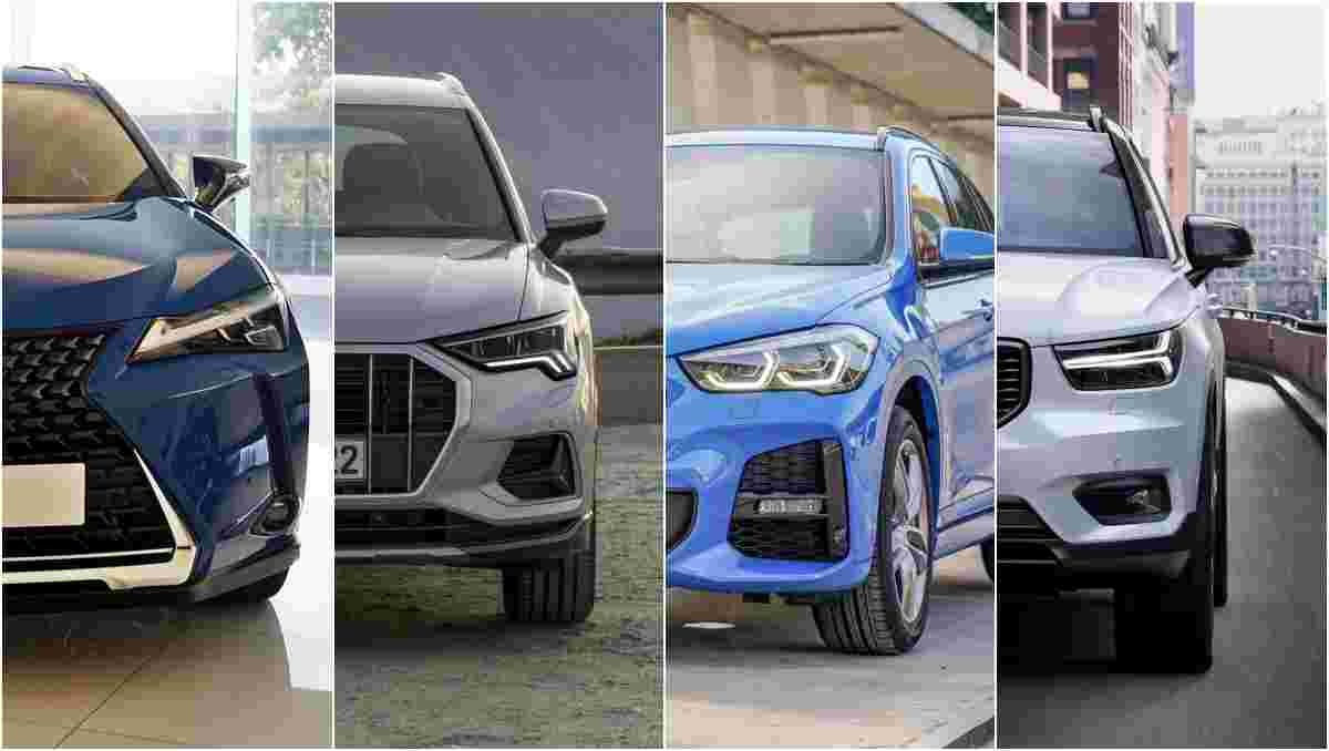 Lexus UX vs Audi Q3 vs BMW X1 vs Volvo XC40, which is the perfect car for you?