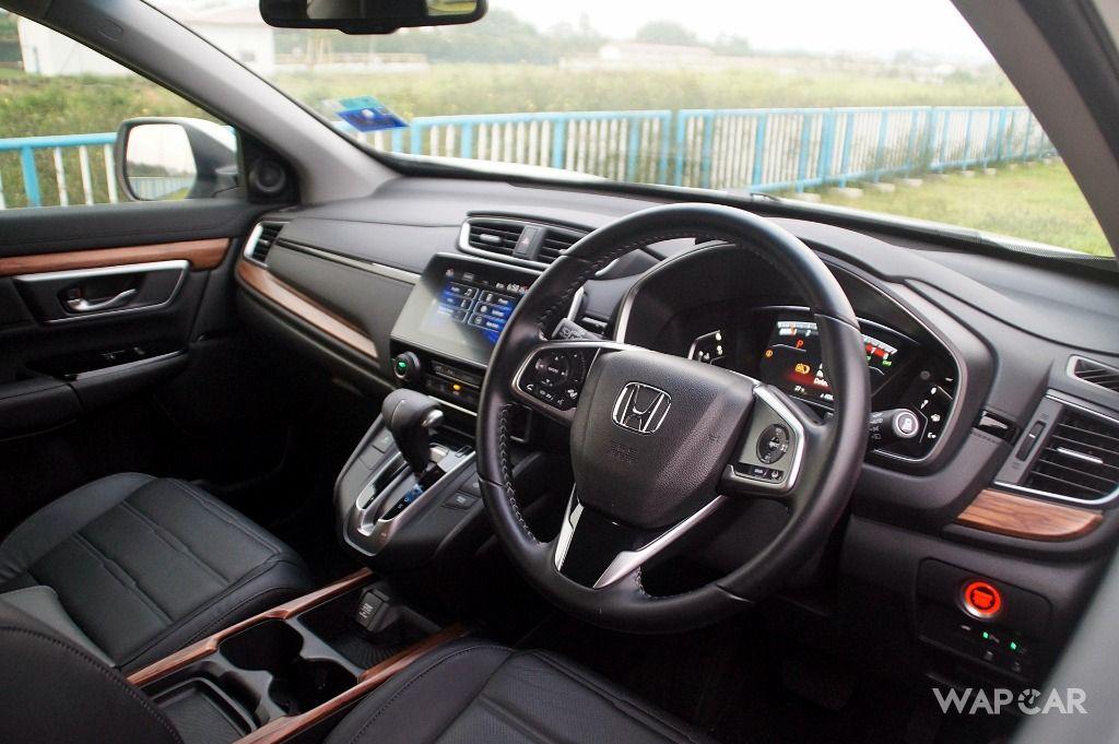 2019 Honda CR-V dashboard
