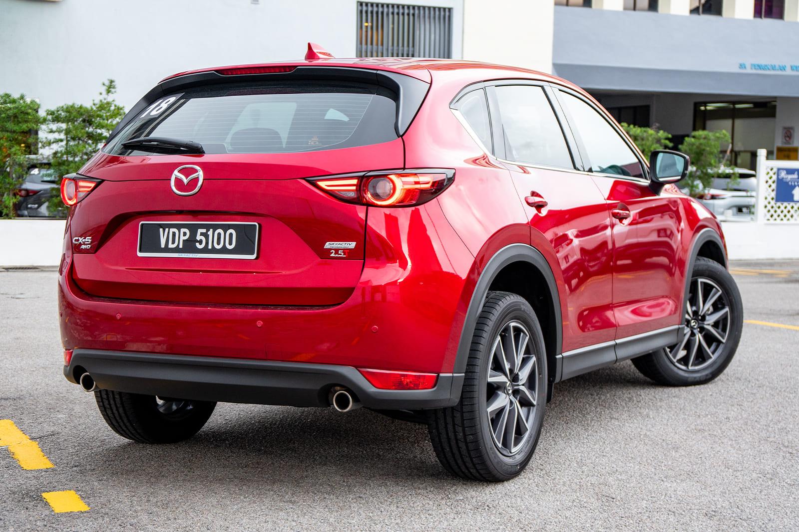 2019 Mazda CX-5 2.5 Turbo WapCar Ratings results, 166.5/250 score, superb performance