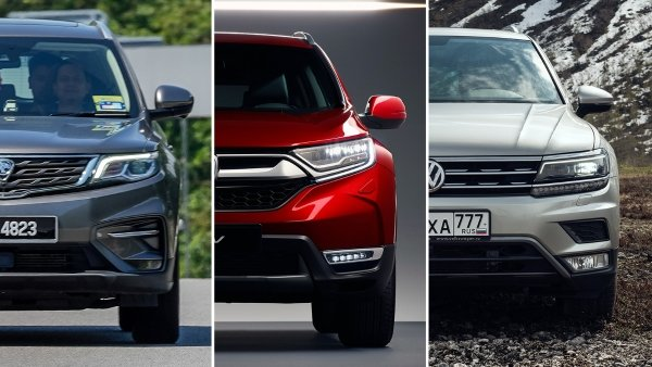 Proton X70 vs Honda CR-V vs Volkswagen Tiguan - which is the better SUV?