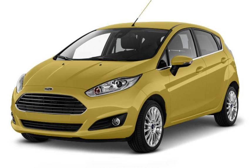 2017 Ford Fiesta Sedan Titanium 1.5