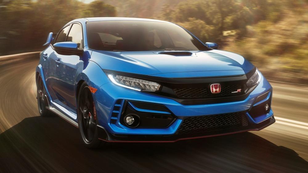 2020 Honda Civic Type R facelift world premiere