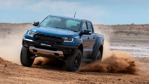How much of the Ford Ranger Raptor is inspired by racing technology?
