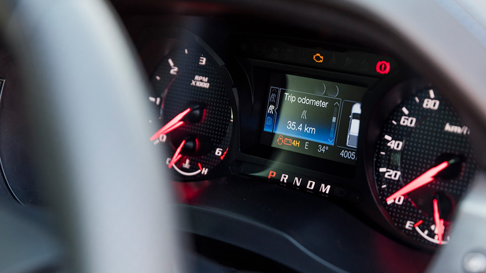 2020 Ford Ranger Raptor 2.0 Bi-Turbo Interior 004