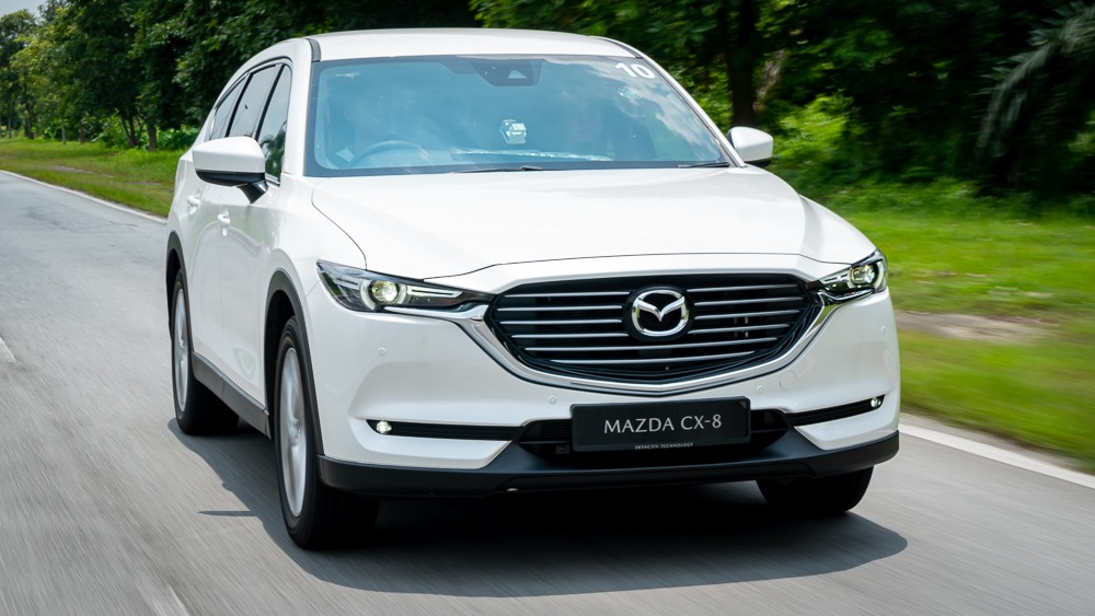 2019 Mazda CX-8 driving shot