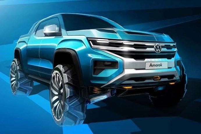This is the Ford Ranger's German cousin - Next-gen Volkswagen Amarok teased