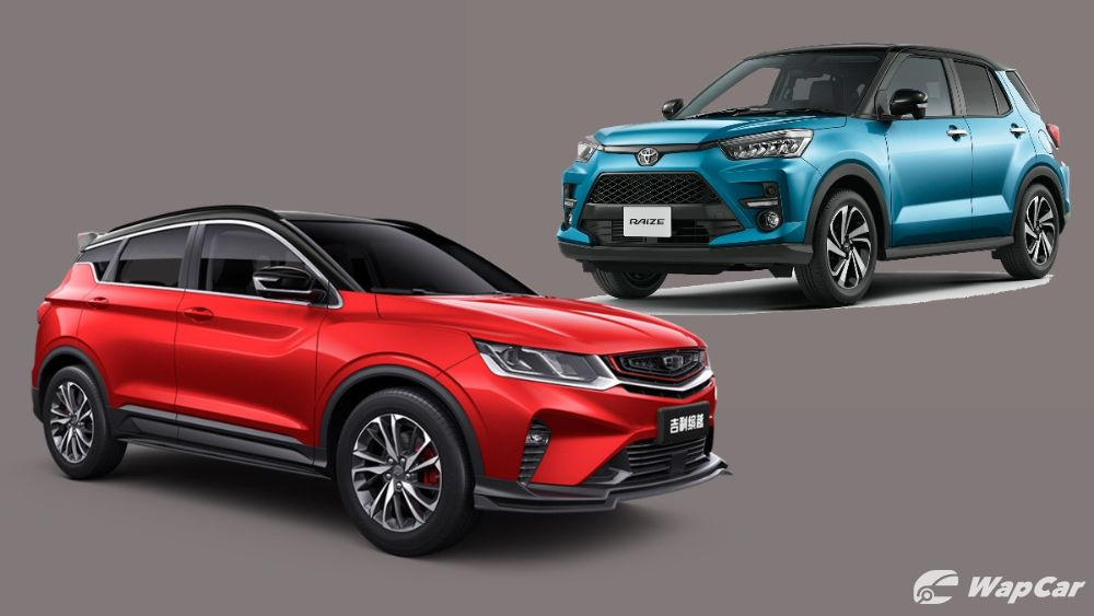 Proton X50 vs Perodua SUV