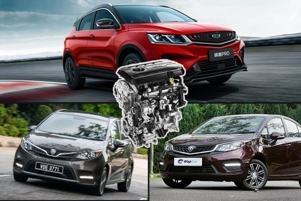 Proton to use Geely 1.4L turbo in Proton X50, Iriz & Persona?