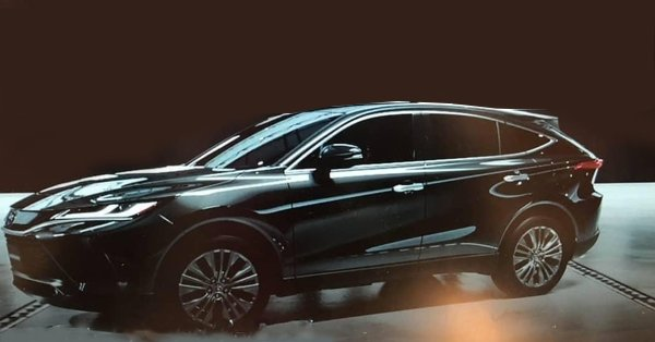 Leaked: All-new 2021 Toyota Harrier unmasked
