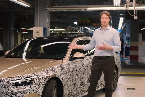 After yesterday's oops, Daimler responded by showing us the 2021 W223 Mercedes-Benz S-Class, sort of