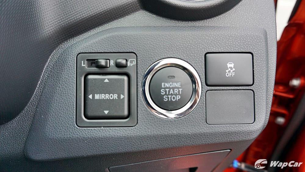 2019 Perodua Axia push start button