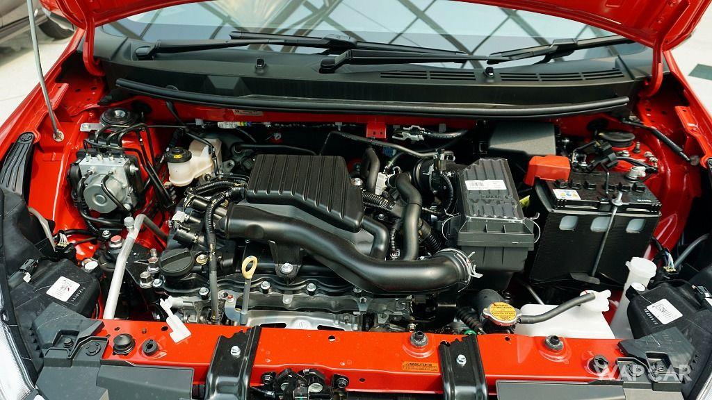 2018 Perodua Myvi 1.5-litre engine