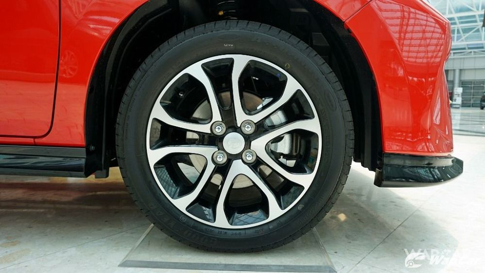 2018 Perodua Myvi front wheels