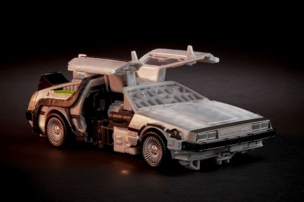 Back to the Future's DeLorean is now a Transformer!
