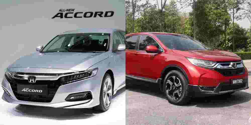 Honda Accord vs Honda CR-V; which car better suits your needs?