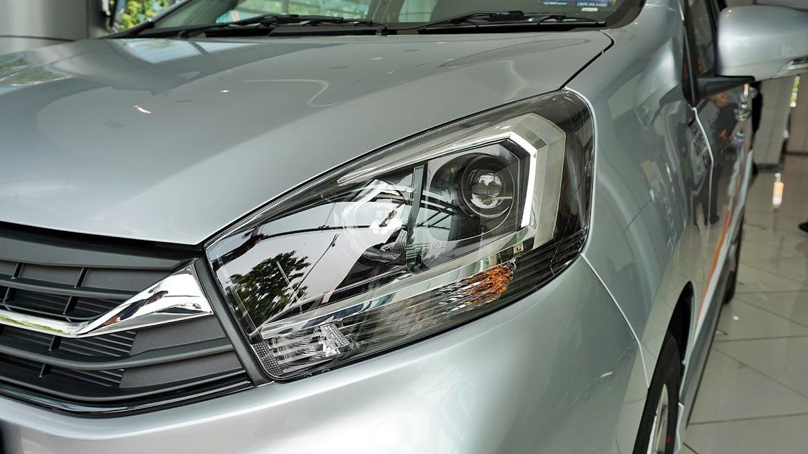 2019 Perodua Axia headlights