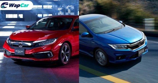 Honda City dan Civic: Terkenal di Malaysia, dilupakan di Jepun