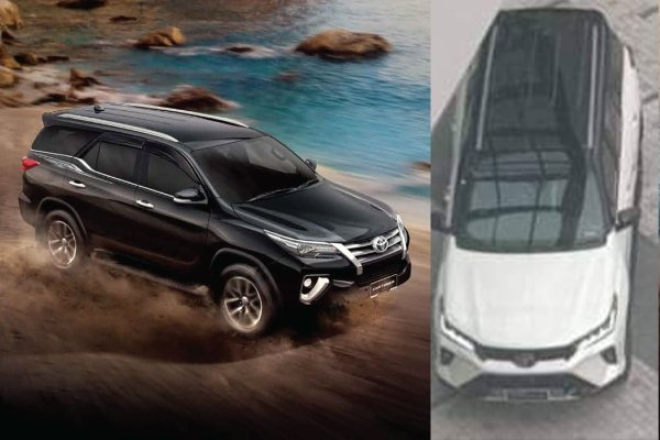 Spied: New 2020 Toyota Fortuner facelift caught in Thailand, to get Toyota RAV4 inspired design?