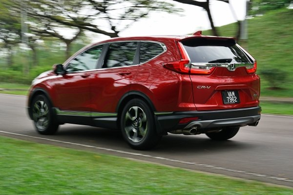 Ratings – Honda CR-V's fuel consumption, commendable score