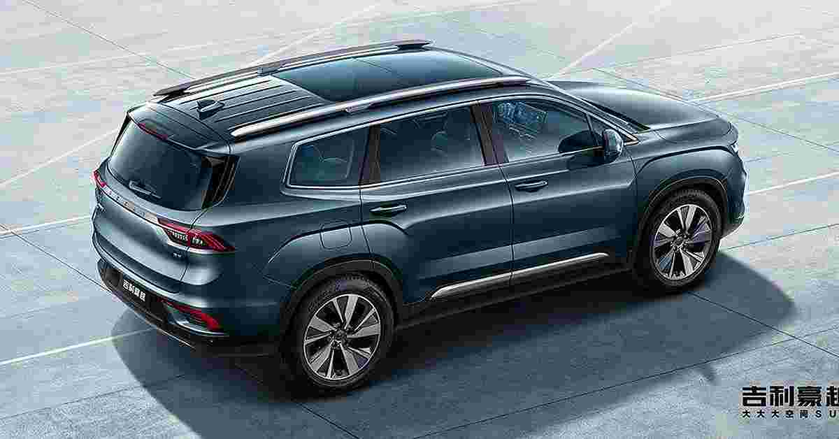 """Geely Haoyue: XXXL-sized Proton X90 with 60"""" sunroof, 1.5T & 1.8T engines"""