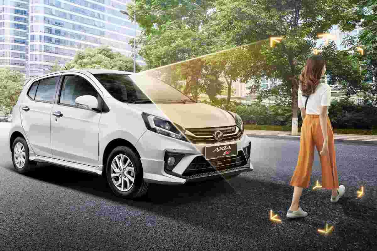 Understanding the new Perodua Axia 2019's ASA feature