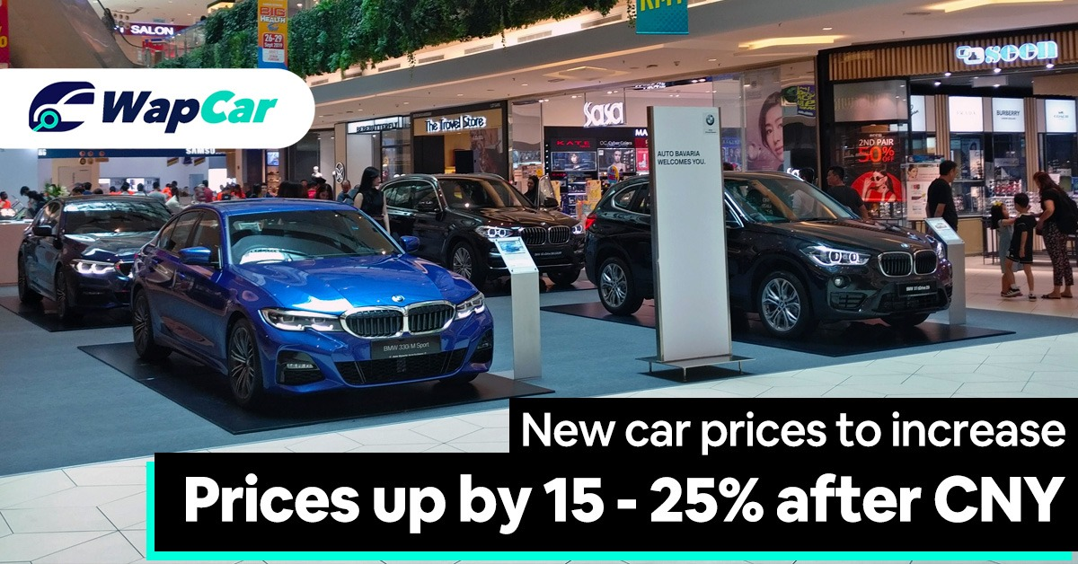 Cars To Go >> Car Prices To Go Up By 15 To 25 Percent After Chinese New