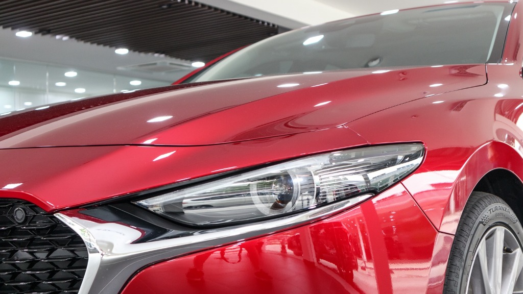 2019 Mazda 3 Sedan 2.0 SkyActiv High Plus Exterior 007
