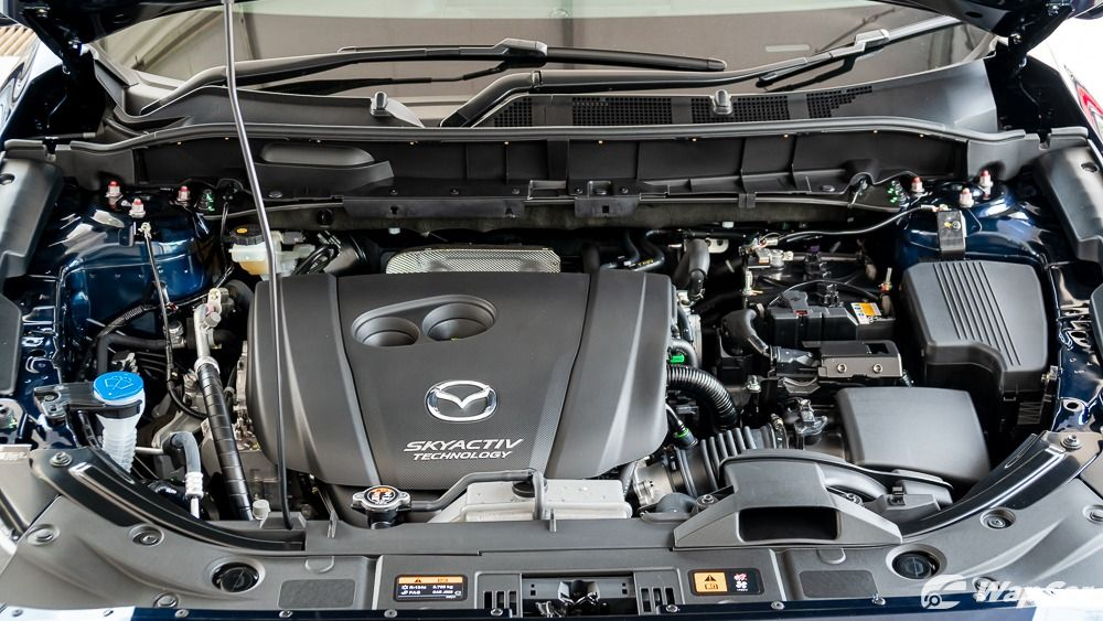 2019 Mazda CX-8 engine