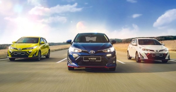 Book your new Toyota from just RM 250 on Lazada!