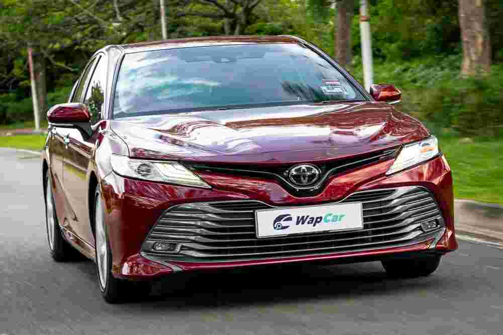 If BMW made an FWD sports sedan, it would be the Toyota Camry 2.5V
