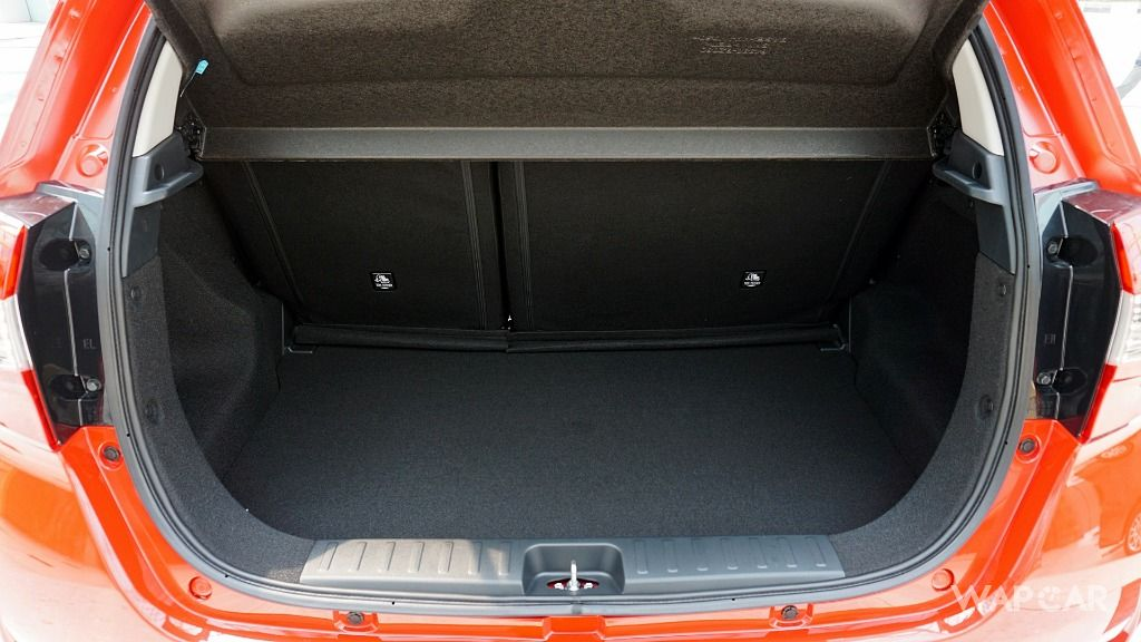 2018 Perodua Myvi boot space