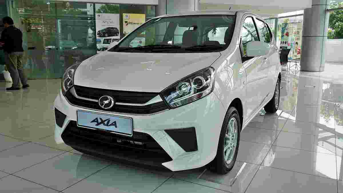 The Perodua Axia 2019 is Malaysia's cheapest new car with VSC