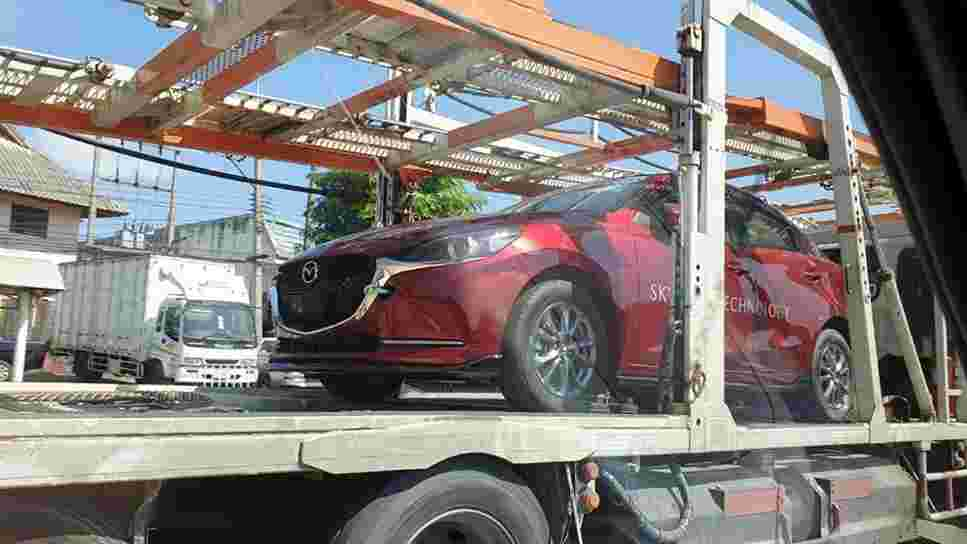Spotted: 2020 Mazda 2 facelift ready to make its debut