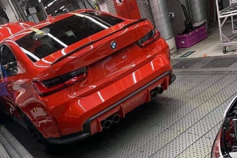 BMW M3 2020 rear
