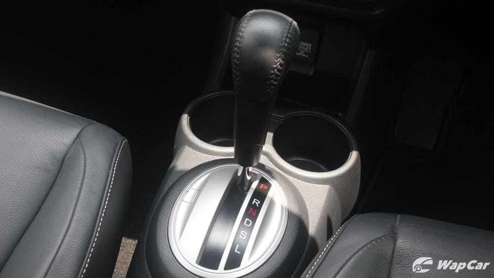 Honda BR-V gearshift