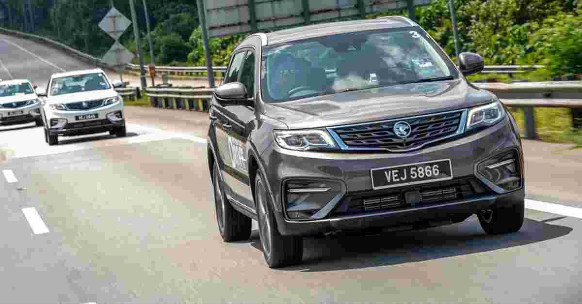 2020 Proton X70 CKD: What's new compared to before?