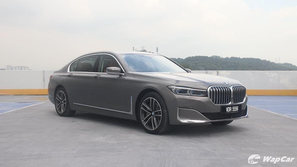 2019 BMW 7 Series 740Le xDrive Exterior 003