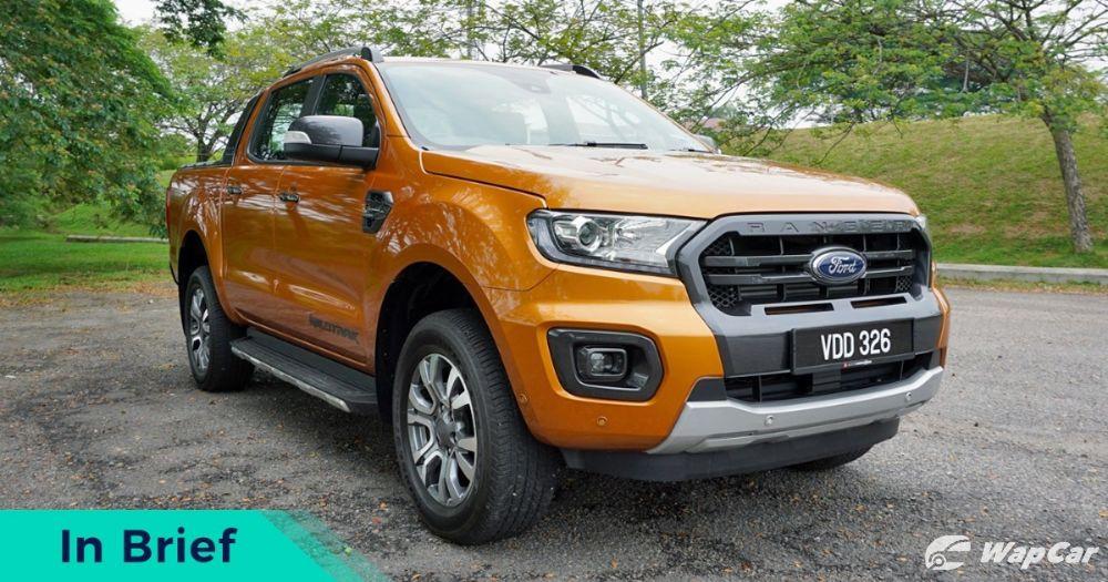 2019 Ford Ranger Wildtrak Front
