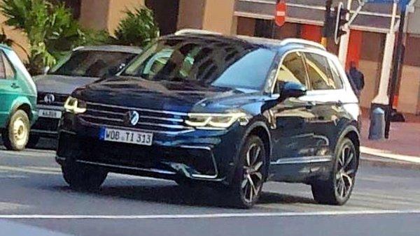 Spied: 2020 Volkswagen Tiguan facelift coming soon?