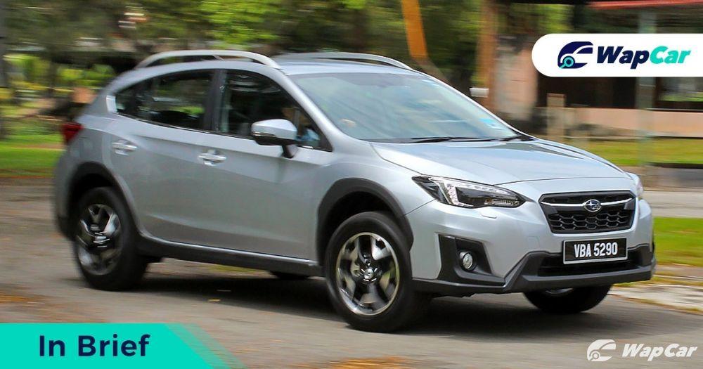 2019 Subaru XV front
