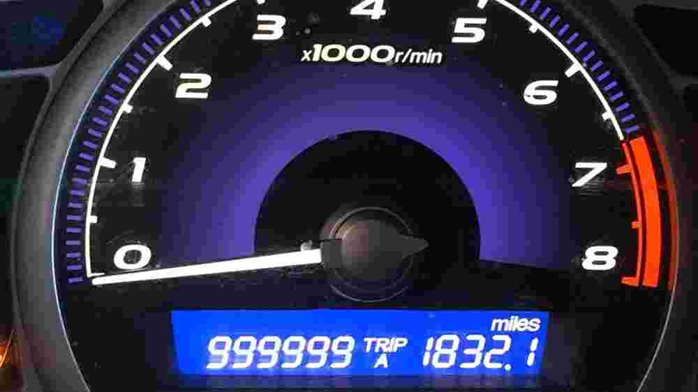 This Honda Civic has clocked over 1.6 million km, with the original engine and transmission