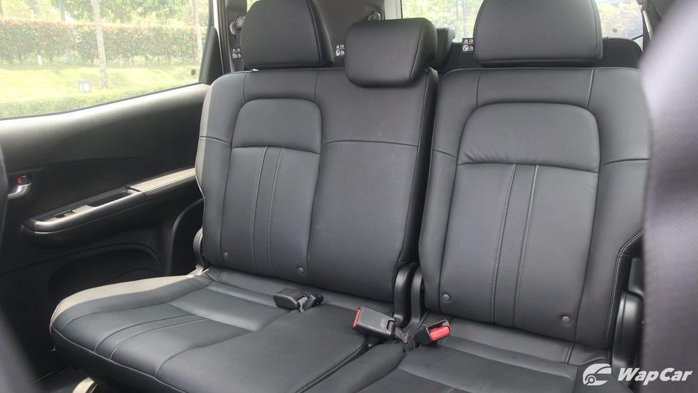 Honda BR-V second row seats