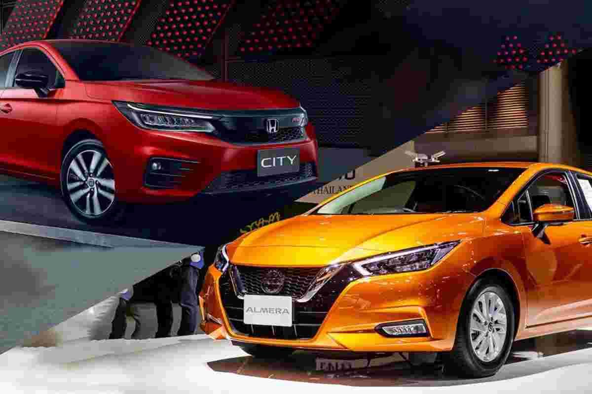 2020 Honda City turbo is the best-selling B-seg sedan in Thailand, Nissan Almera No.2