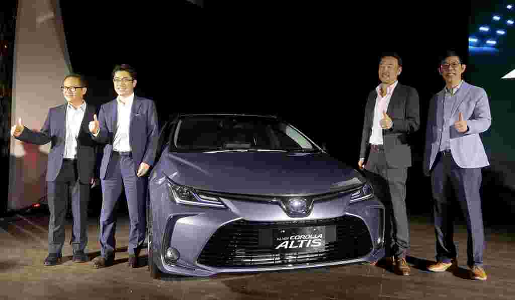 Toyota Indonesia introduces all-new Corolla Altis - hybrid variant debuts
