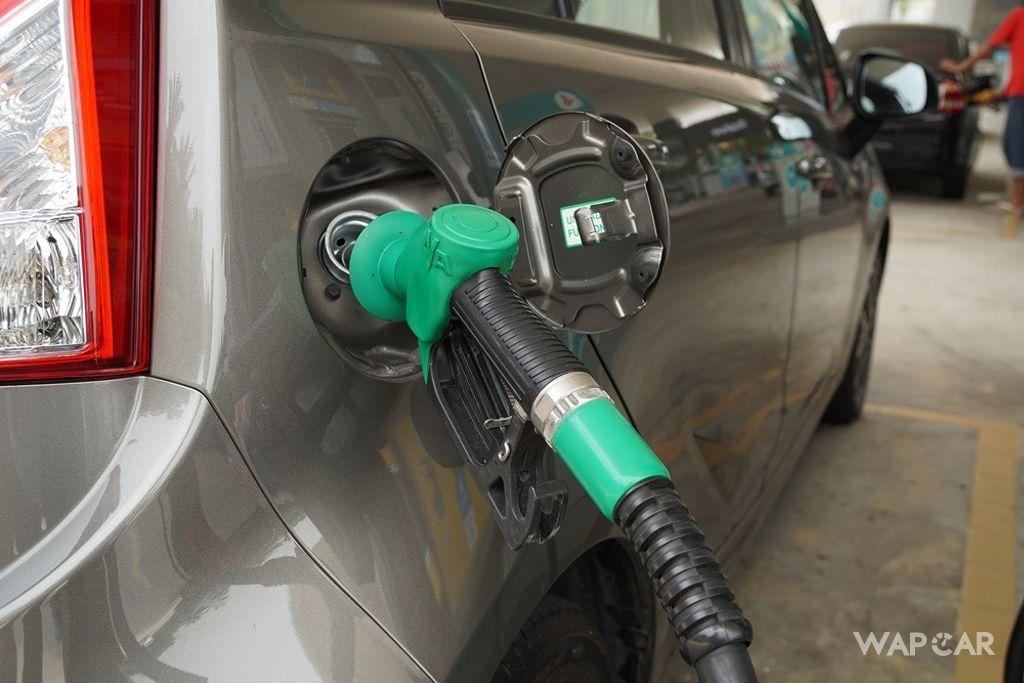 RON 97 petrol price
